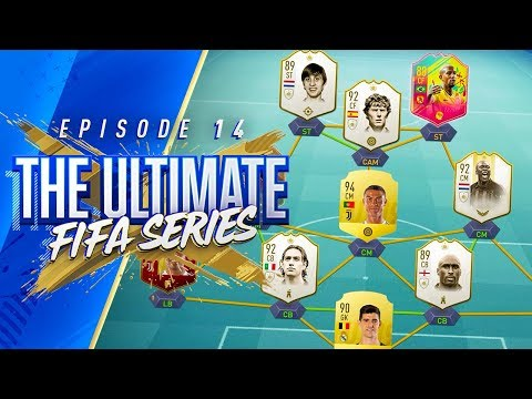 STEALING PLAYERS FROM THE CRAZIEST SQUAD EVER!!! THE ULTIMATE FIFA SERIES!!! Episode 14