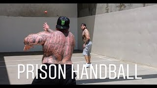 HANDBALL ON THE YARD | DEADLIFTS AT MUSCLE BEACH