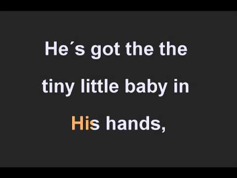 GOSPEL HYMNAL - HE'S GOT THE WHOLE WORLD IN HIS HANDS  Q.AVI