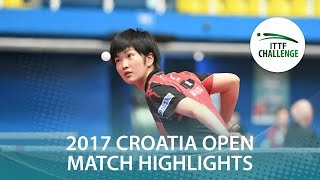Review all the highlights from the Vivien Scholz vs Miyuu Kihara (Q...