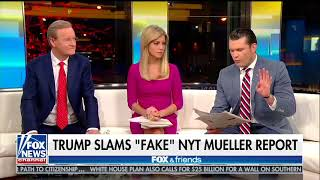 FOX and Friends F&F mocks NYT Mueller story 2018 01 26