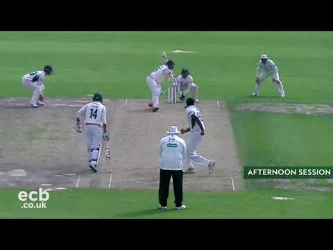 Worcestershire v Leicestershire: Specsavers County Championship Day 1 Highlights