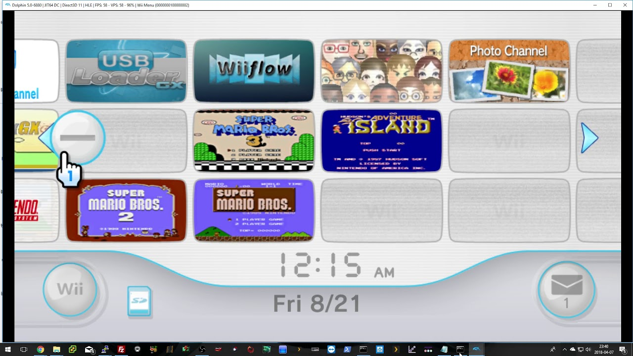 dolphin emulated wiimote not working