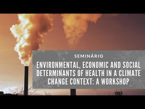 Environmental, Economic And Social Determinants Of Health In A Climate Change Context: A Workshop