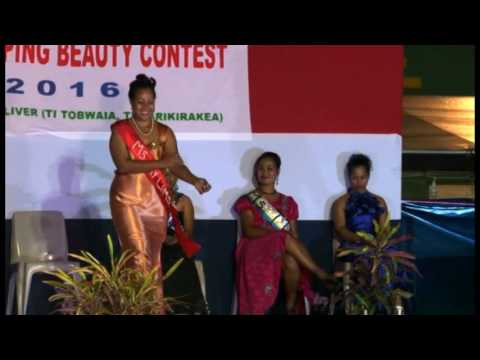 Miss Kiribati 2016 Winner