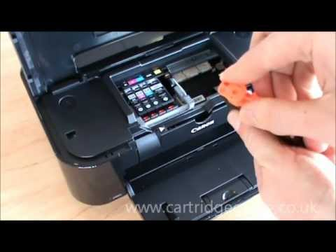 Canon Pixma Ip4950 How To Set Up And Install Ink