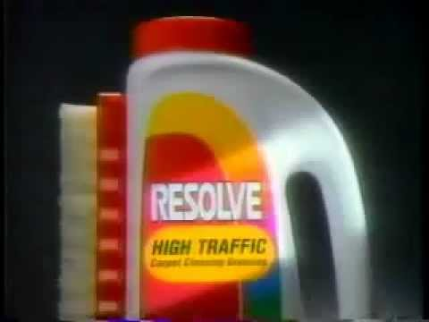 Resolve Carpet Cleaner Commercial From 1993 Youtube