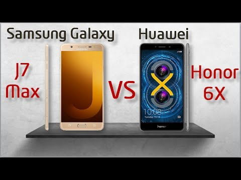 Samsung Galaxy J7 Max  Vs Huawei Honor 6X - Full Comparison