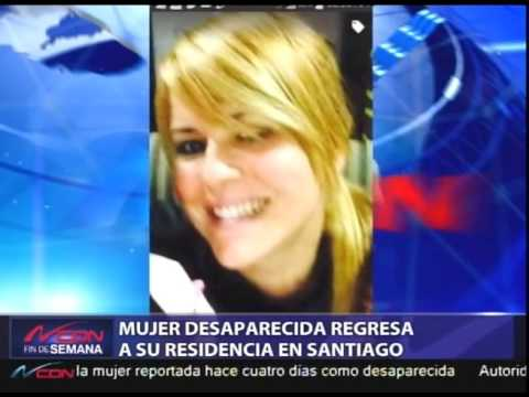 Dominican Republic News 2016 | Missing woman returned to her residence in Santiago