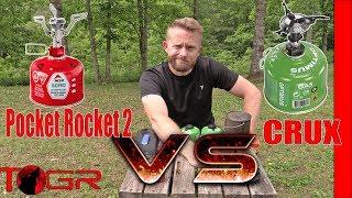 Quickest Boil? MSR Pocket Rocket 2 vs Optimus Crux Stoves - Versus Ep3