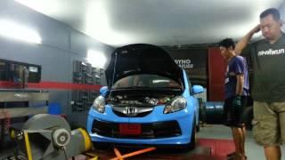 brio l12 turbo test on dyno