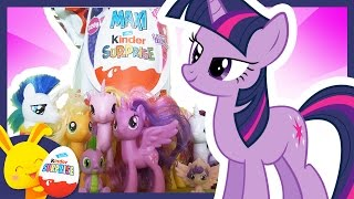 Kinder Surprise My Little Pony Special Paques Petit Poney Twilight Touni Toys Titounis