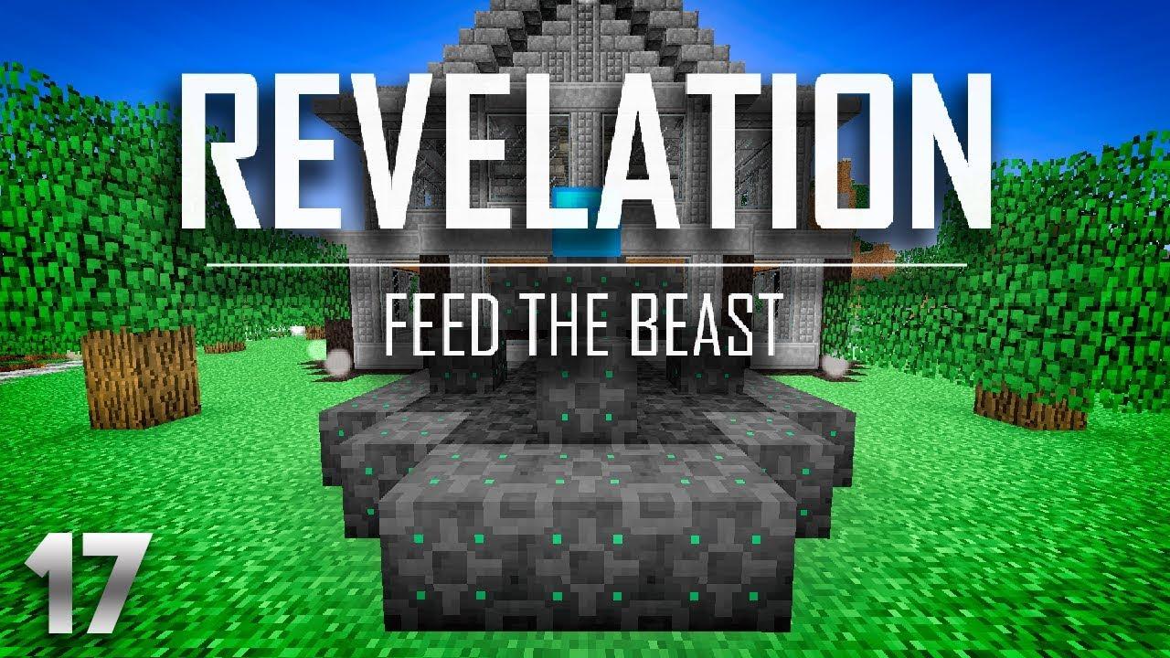 FTB Revelation EP17 Void Ore Miner