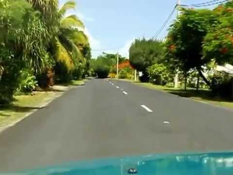 Driving in Rarotonga