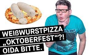 """Monaco F: """"Weißwurstpizza Oktoberfest – Oida bitte!"""""""