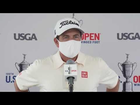 Adam Scott Thursday Flash Interview 2020 US Open - Round 1