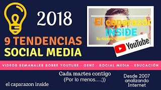 Tendencias Social Media 2018