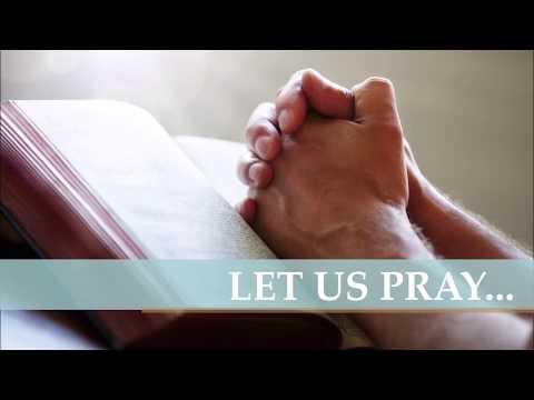 Let us pray...November 2019