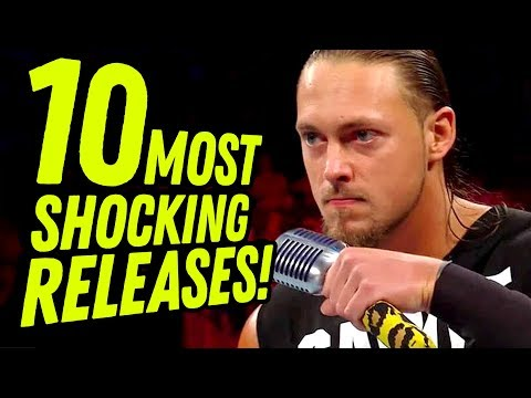 10 MOST SHOCKING WWE RELEASES! (Going In Raw Countout Pro Wrestling Podcast) thumbnail