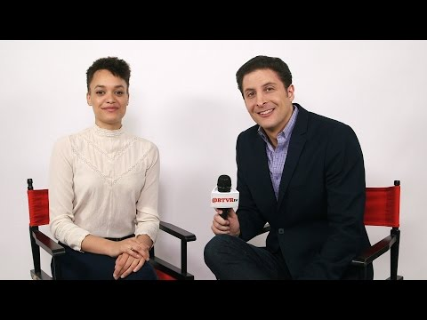 Britne Oldford From Syfy's