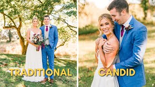 Candid Wedding Photography Vs. Traditional Wedding Photography