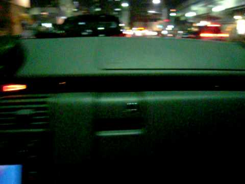 Tanaka in Tokyo ( Cable TV in the car )