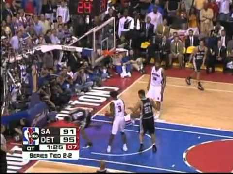 Robert Horry Game 5 NBA Finals 2005