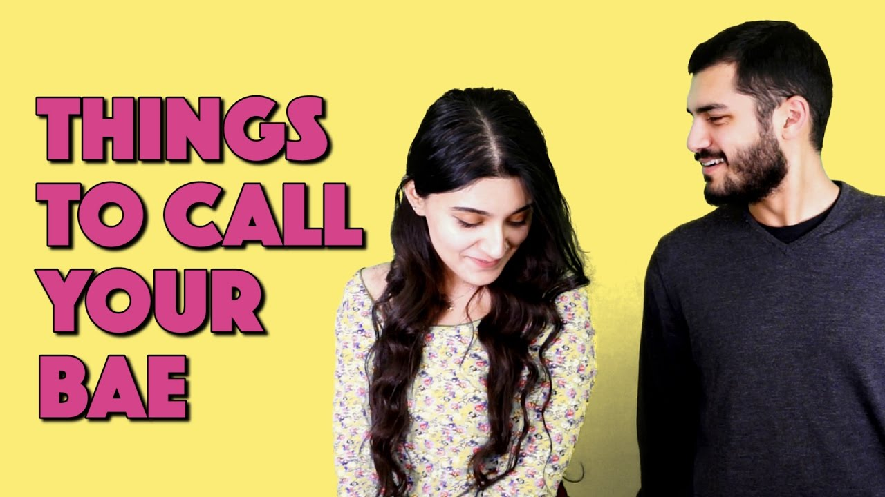 Things to Call Your Bae | MangoBaaz