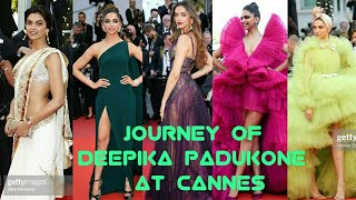 Journey Of Deepika Padukone At Cannes Film Festival | Deepika Padukone In Cannes