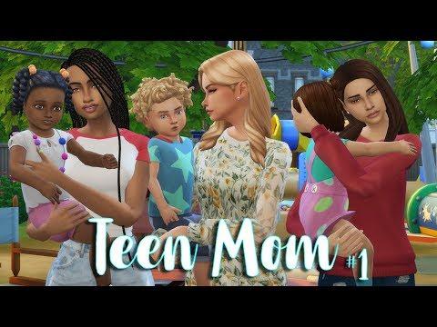Teen Mom Club | The Sims 4 thumbnail