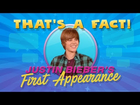 'That's a Fact!' Justin Bieber Edition!