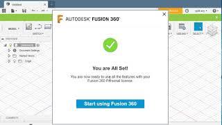 Licence fusion 360