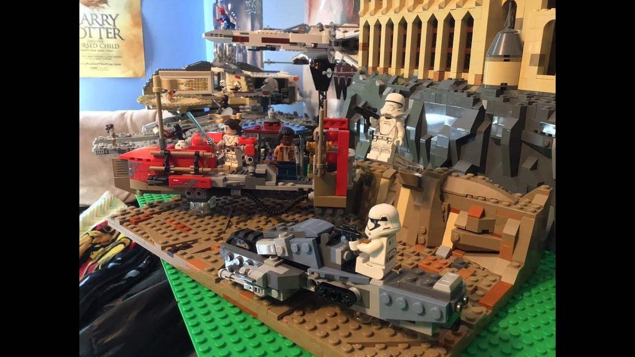 Lego Star Wars The Rise Of Skywalker Pasana Moc Rey Custom Youtube