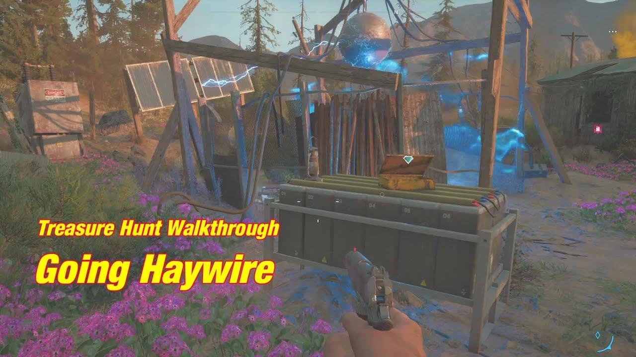 Far Cry New Dawn Going Haywire Treasure Hunt Youtube