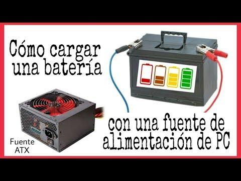 Modificar fuente de pc para cargador de baterias