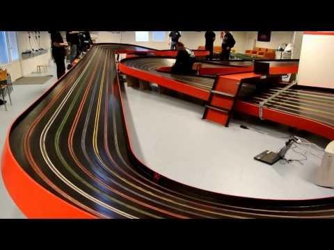Laihia Mini Slot Racing Club Jan 2014 – G7 Semi Final – Parts from different Heats