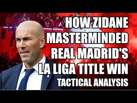 How Zidane Masterminded Real Madrid's La Liga Title Win: Tactical Analysis