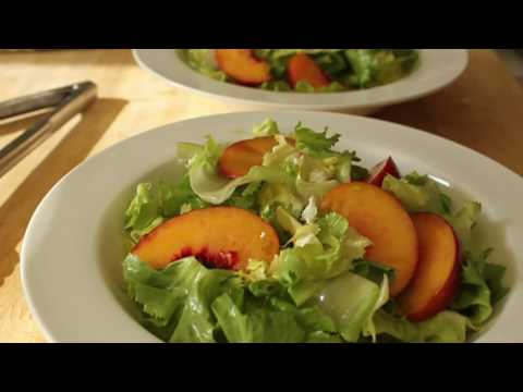 food-wishes-recipes---peach-and-escarole-salad---summer-peach-and-curly-endive-salad-recipe