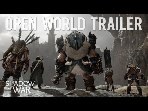 """Shadow of War: """"Dominate the Open World"""" Official Trailer"""