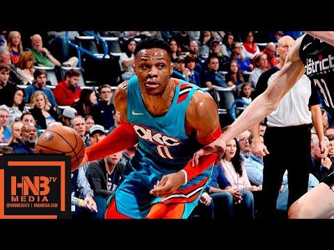 OKC Thunder vs Washington Wizards Full Game Highlights | 01/06/2019 NBA Season