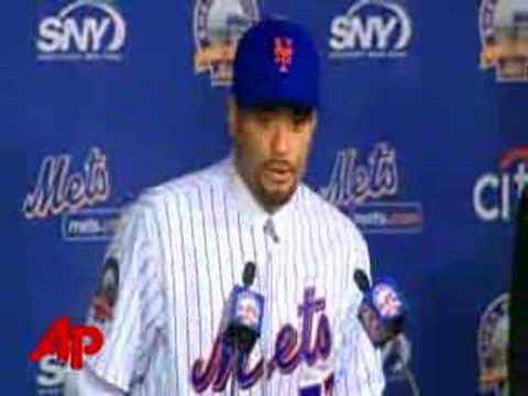 Mets Introduce New Ace Santana