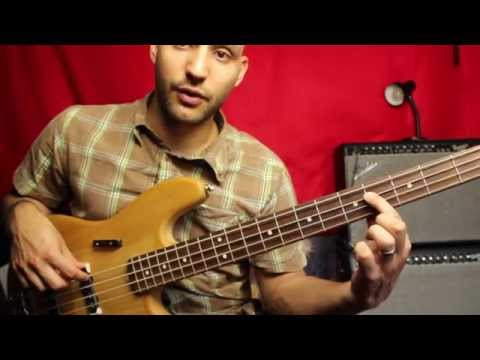 Stir It Up Bass Lesson - Bob Marley - For Intermediate And Beginner