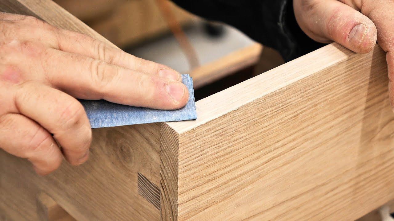 A Sanity Saving Sanding Tip - Woodworking