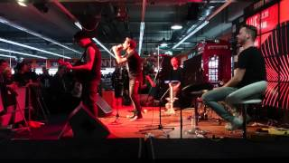 Donots - Reeperbahn um 5uhr10  - unplugged  (Saturn Hamburg 21.02.2015)