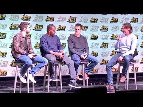 Chris Evans, Sebastian Stan y Anthony Mackie en ACE comic Con 13/1/2018 -  Avengers Infinity War