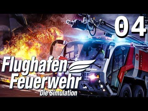Flughafen Feuerwehr Die Simulation #4 Die Rutsche rauf  PREVIEW Gameplay des Simulator deutsch