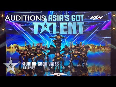 Junior Good Vibes High Energy Dance Moves Impressed The Judges! | AXN Asia's Got Talent 2019