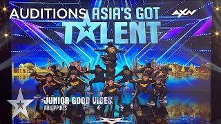 Junior Good Vibes High Energy Dance Moves Impressed The Judges! | Asia's Got Talent 2019 on AXN Asia thumbnail