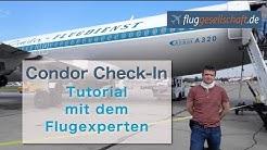 Condor online Check-In, einfach & schnell (2017, deutsch)