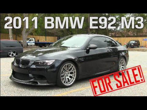 2011 bmw e92 m3 - for saleowner - charleston, sc | review